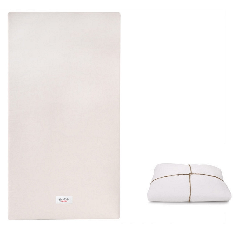 BABYLETTO Babyletto Coco Core Non-Toxic Crib Mattress With Dry Waterproof  Cover