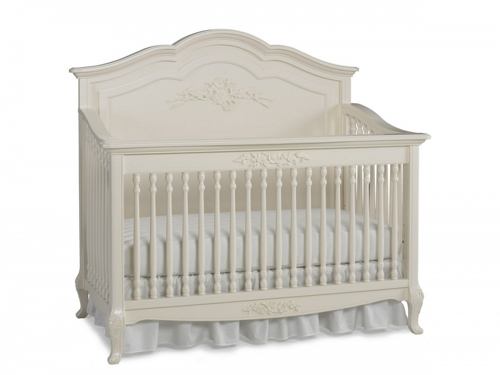 Home Angelina Convertible Crib French Vanilla Hover To Zoom