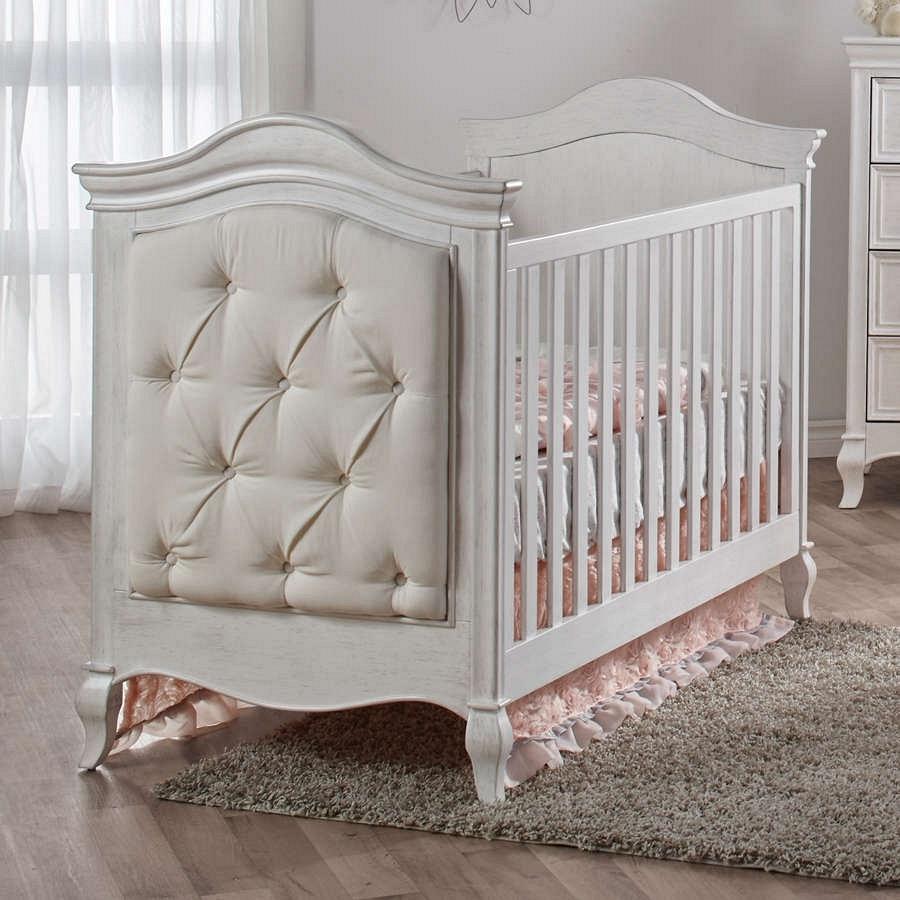 Pali Diamante Clico Crib In Vintage White